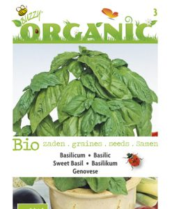 Bio Basilicum Genovese Seeds 4 Garden