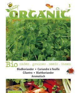 Bio Cilantro Seeds 4 Garden