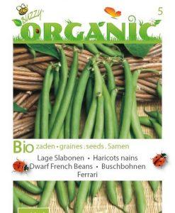 Bio Dwarf Beans Seeds 4 Garden