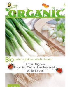 Bio Onion White Lisbon Seeds 4 Garden
