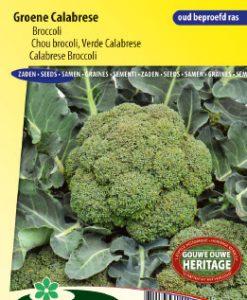 Calabresa Broccoli Groene Calabrese Seeds 4 Garden