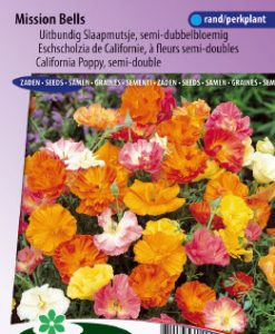 California Poppy Mission Bells mix Seeds 4 Garden