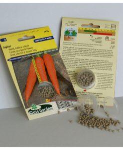 Carrot Jupiter (Long selection of Autumn King) PELLETED Seeds 4 Garden