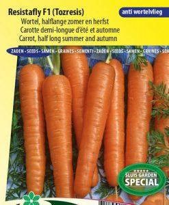Carrot Resistafly F1 (Halflong summer and autumn) Seeds 4 Garden