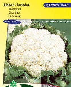 Cauliflower Alpha 6 Fortados Seeds 4 Garden