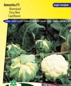 Cauliflower Armetta F1 Seeds 4 Garden