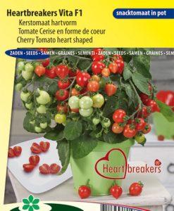 Cherry Tomato hear shaped Heartbreakers Vita F1 Seeds 4 Garden