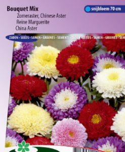 China aster Bouquet Mix Seeds 4 Garden