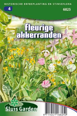 Colourful field boundaries Seeds 4 Garden