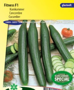Cucumber Fitness F1 (Greenhouse) Seeds 4 Garden