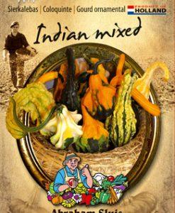 Cucurbita pepo Indian Mixed Seeds 4 Garden