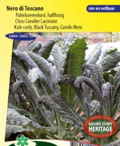 Curly Kale Nero di Toscana (Black Tuscany) Seeds 4 Garden