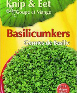 Cut & Eat Basil Seeds 4 Garden