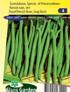 Dwarf French Bean Fran Toccata Seeds 4 Garden