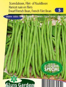 Dwarf French Filet Bean Argus Seeds 4 Garden
