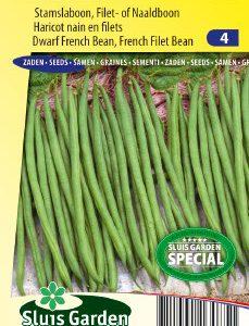 Dwarf French Filet Bean Niki Seeds 4 Garden