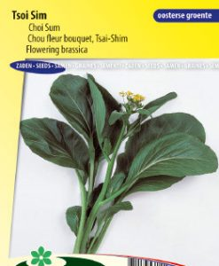 Flowering brassica Tsoi Sim / Choi Sum Seeds 4 Garden