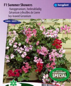 Geranium Ivy-leaved F1 Summer Showers Seeds 4 Garden