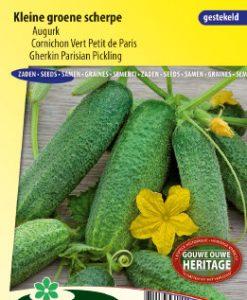 Gherkin Parisian Pickling Seeds 4 Garden