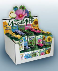 Greengift Mixed 40 pcs in showbox Seeds 4 Garden