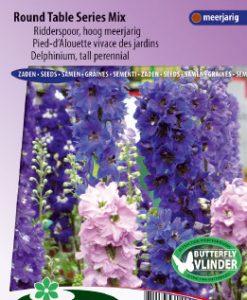 Larkspur tall Round Table Series Mix Seeds 4 Garden