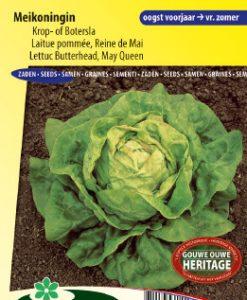 Lettuce Butterhead May Queen Seeds 4 Garden
