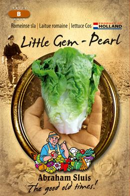 Lettuce Little Gem - Pearl Seeds 4 Garden