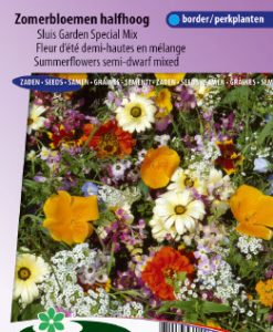 Mixture Annual Summerflowers Semi-dwarf Seeds 4 Garden