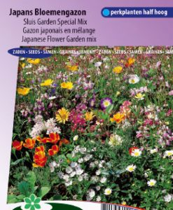 Mixture Japanese Flower Garden (annual) Seeds 4 Garden