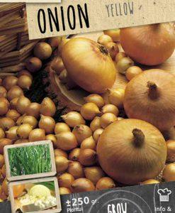 Onion Sets Yellow 250 gram Seeds 4 Garden