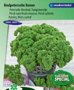 Parsley moss-curled Xenon (Petros. crispum) Seeds 4 Garden