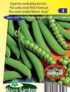 Pea Round seeded Meteor (50 cm) Seeds 4 Garden