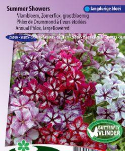Phlox Summer Showers Mix (large flowered) Seeds 4 Garden