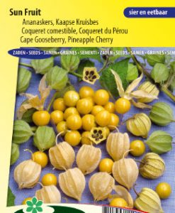 Pineapple Cherry SunFruit (Cape Gooseberry) Seeds 4 Garden