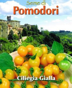 Pomodoro - Tomato Ciliegia Gialla Yellow Cherry Seeds 4 Garden