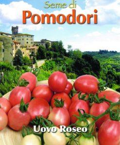 Pomodoro - Tomato Pink Thai Egg Seeds 4 Garden