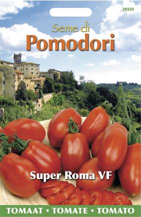 Pomodoro - Tomato Super Roma Vf Seeds 4 Garden