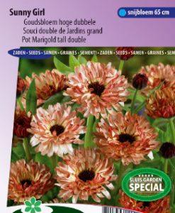 Pot Marigold Sunny Girl tall double Seeds 4 Garden