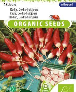 Radish 18 Jours EKO Seeds 4 Garden