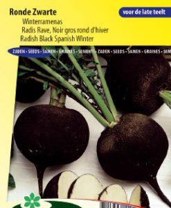Radish Black Spanish Winter Seeds 4 Garden