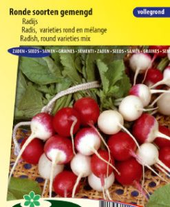 Radish round varieties mix Seeds 4 Garden