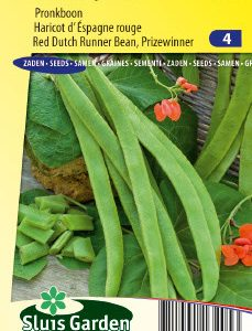 Runner Bean Prijswinner (Dutch Red) Seeds 4 Garden