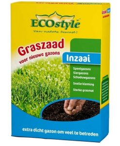 Sowing Grass Seeds 500 gr - Ecostyle Seeds 4 Garden
