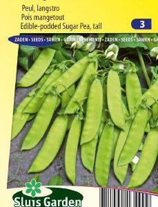 Sugar Pea Vroege Hendriks (120 cm) Seeds 4 Garden
