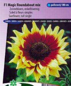 Sunflower F1 Magic Roundabout Mix Seeds 4 Garden