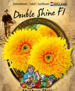 Sunflower annuus Double Shine F1 Seeds 4 Garden