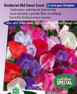 Sweet pea Old Sweet Scent (Heirloom varieties) Seeds 4 Garden