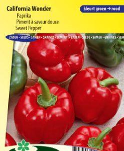 Sweet pepper California Wonder Seeds 4 Garden