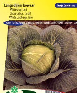 White Cabbage late Langedijker Bewaar Seeds 4 Garden