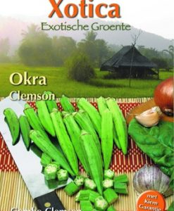 Xotica Okra Seeds 4 Garden
